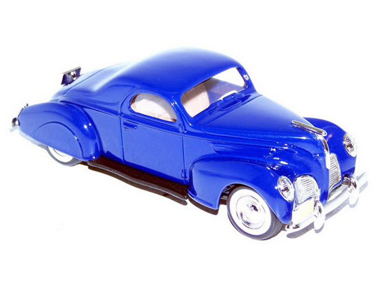 Durham Classics Model Listings 1938 Lincoln Zephyr Coupe